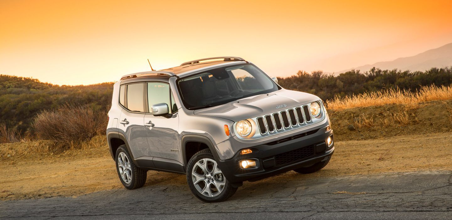 2018 Jeep Renegade Front Silver Exterior