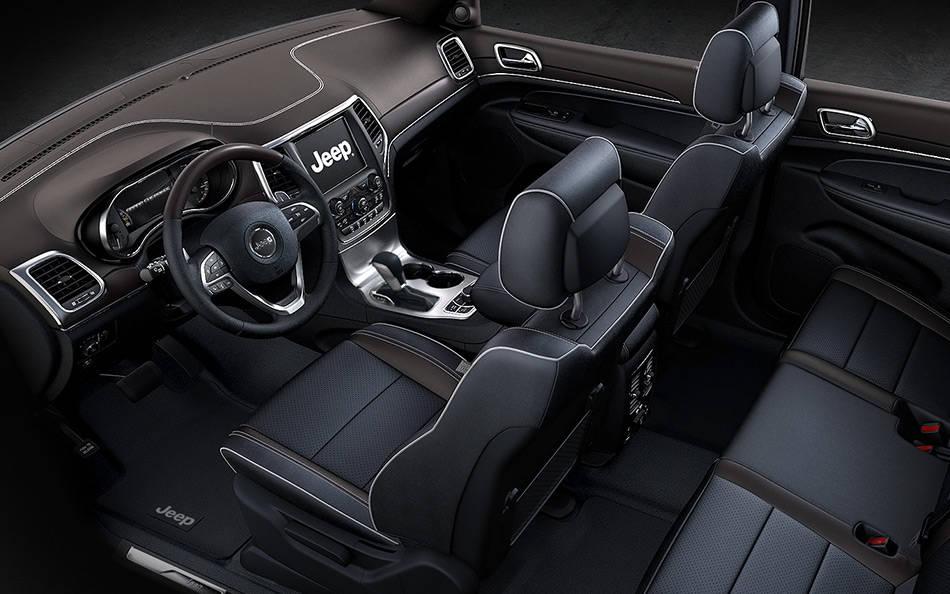 2017 Jeep Grand Cherokee Interior Dashboard