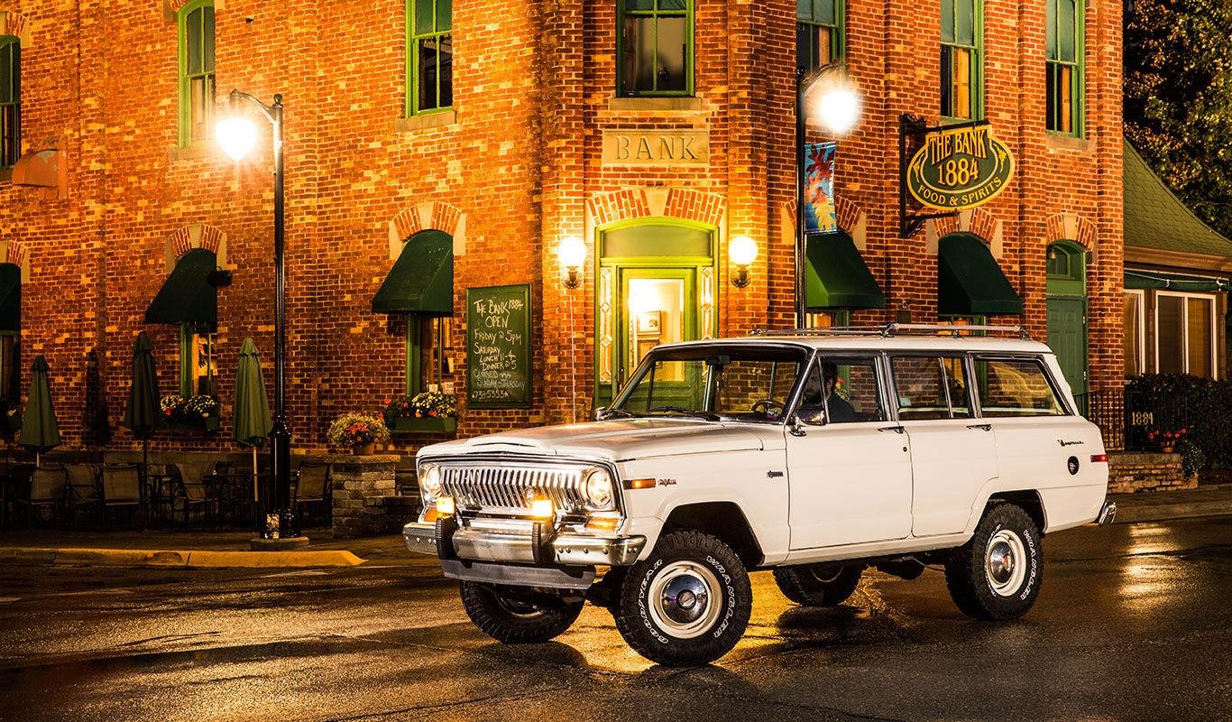 1963 Jeep Wagoneer Side View