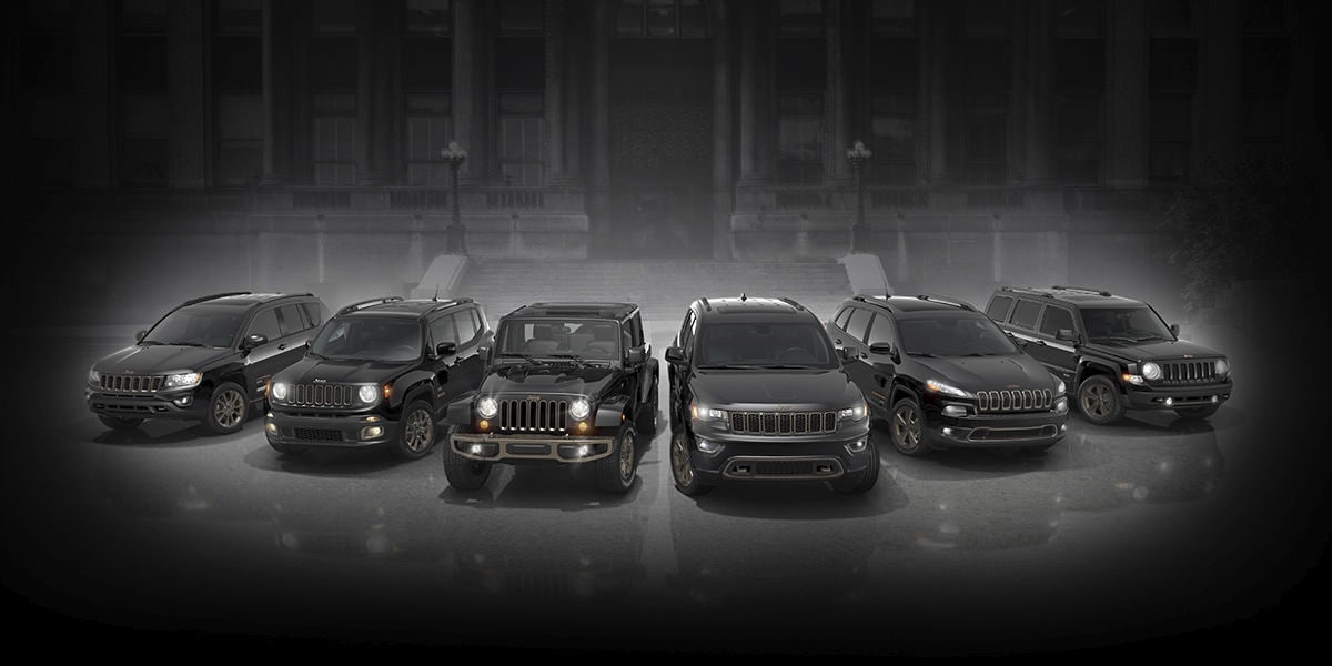 2017 Jeep Entire Lineup