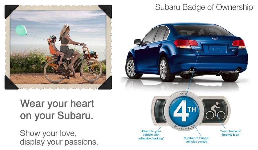 Subaru Badge Of Ownership >> Badge of Ownership | LaRiche Subaru | in Findlay, OH 45840
