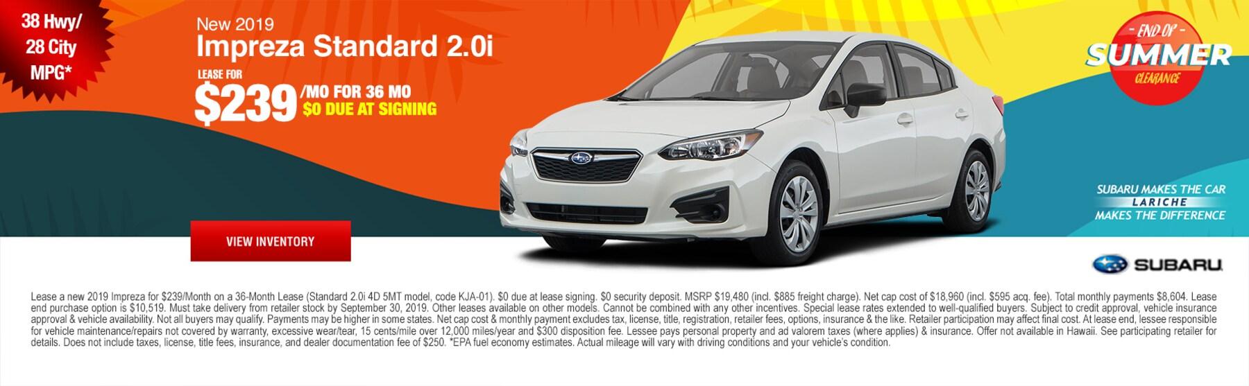 Car Dealerships Findlay Ohio >> Lariche Subaru New 2019 2020 Subaru Dealer In Findlay Oh
