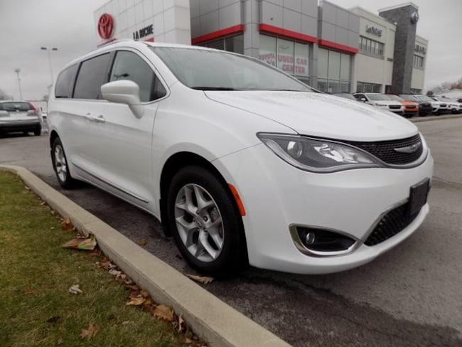 Used 2017 Chrysler Pacifica Touring L Plus For Sale In Findlay Oh