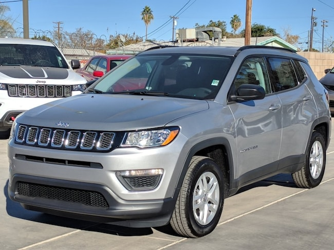 New 2018 Jeep Compass SPORT FWD Sport Utility in Blythe, CA