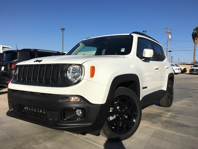 New 2018 Jeep Renegade ALTITUDE FWD Sport Utility in Blythe, CA