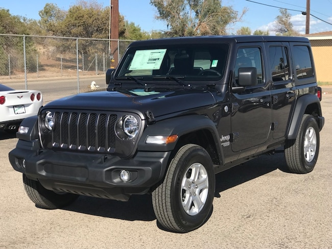 New 2018 Jeep Wrangler UNLIMITED SPORT S 4X4 Sport Utility in Blythe, CA