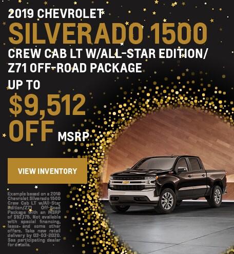 January 2019 Silverado 1500 Offer