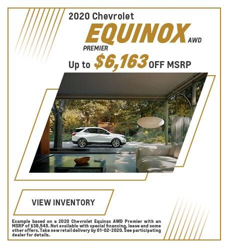 December 2020 Chevrolet Equinox Offer