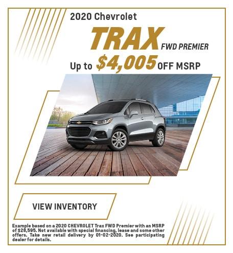 December 2020 Chevrolet Trax Offer