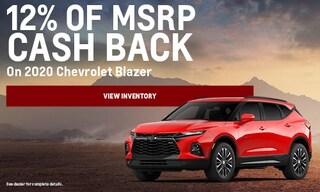 2020 Chevrolet Blazer - September