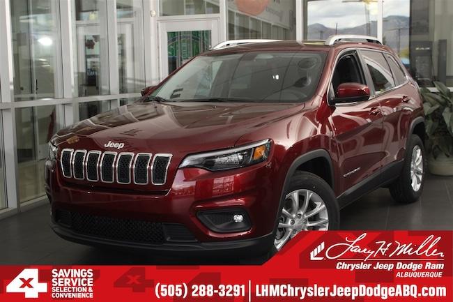New 2019 Jeep Cherokee LATITUDE FWD Sport Utility Albuquerque