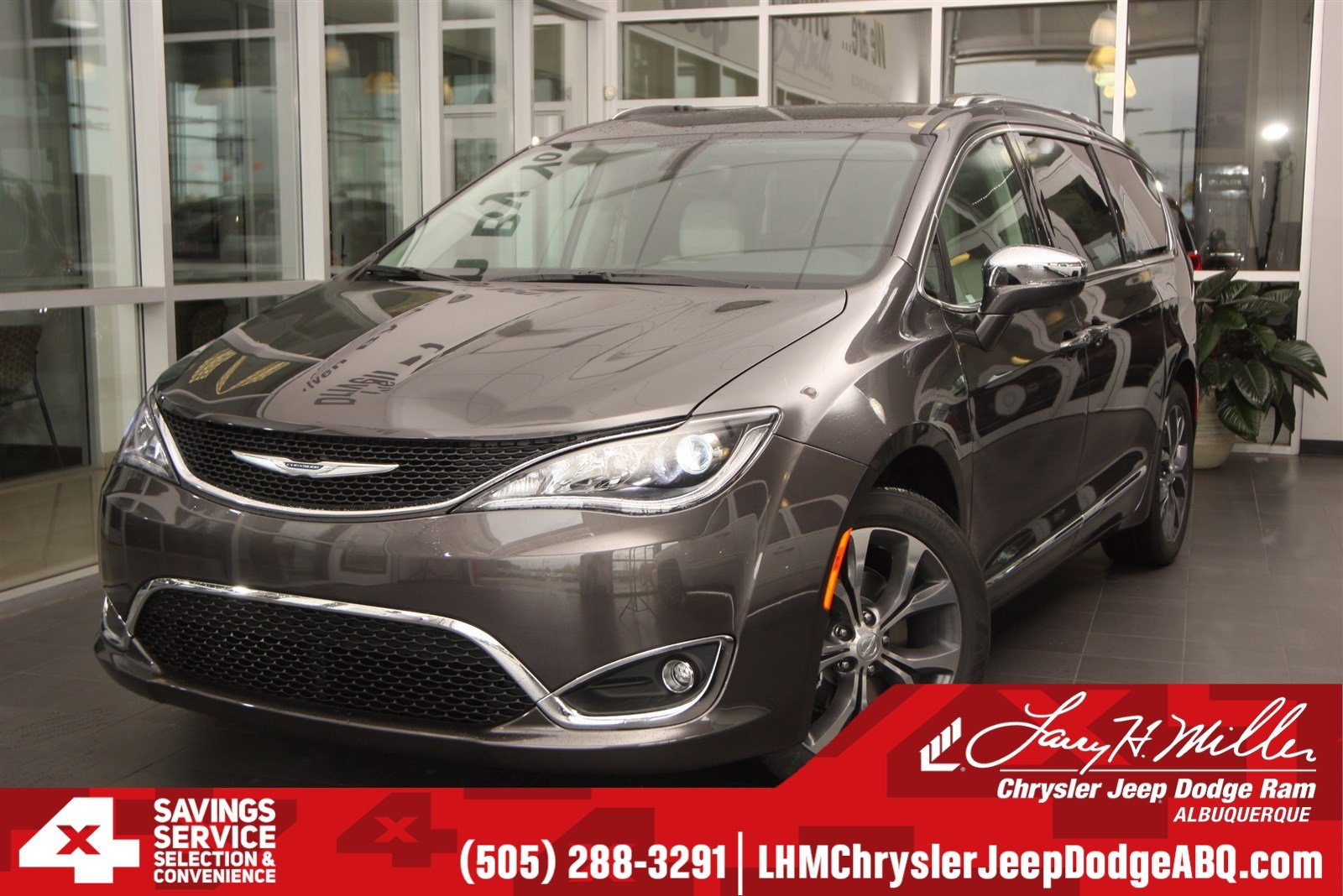 Featured new cars, trucks, and SUVs 2018 Chrysler Pacifica LIMITED Passenger Van for sale near you in Albuquerque, NM