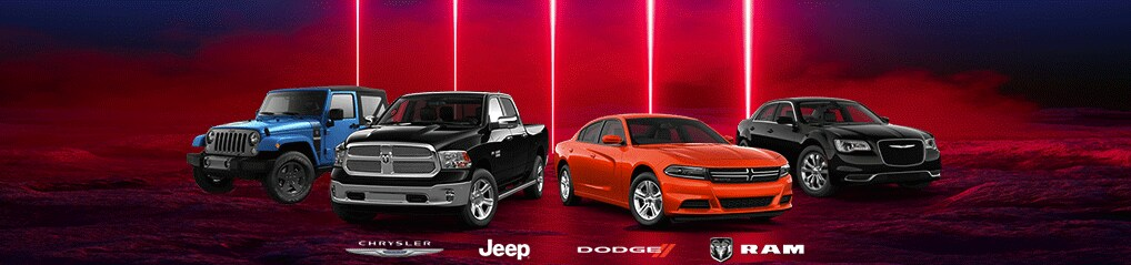 Chrysler Jeep Dodge Ram Line up Albuquerque