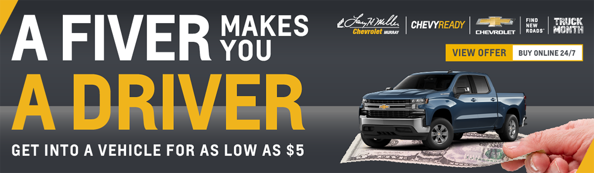 Find out what you can get for $5 on Black Friday at Larry H. Miller Chevrolet Murray