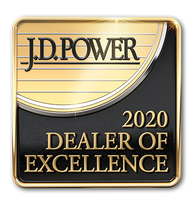 JD Power 2020 Dealer of Excellence Program Award Winner