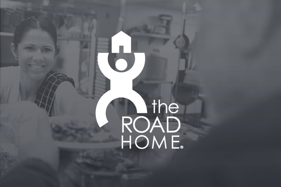 We support The Road Home who help the homeless in our community