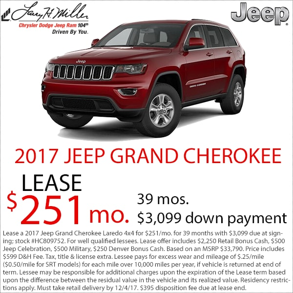 Jeep Cherokee Lease Deals Denver