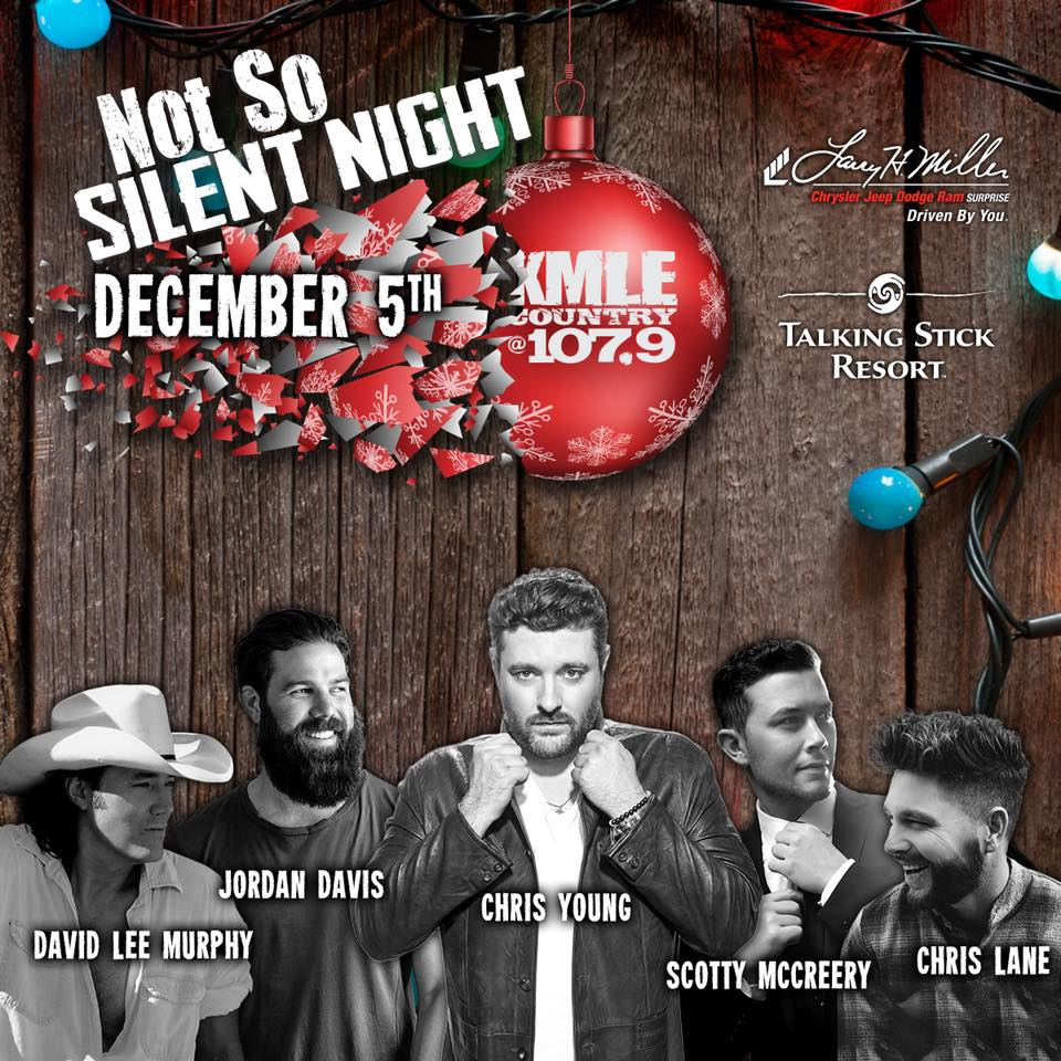 KMLE's Not So Silent Night Sets the Holiday Scene in Phoenix