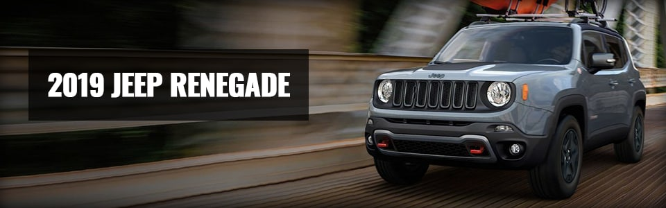 Review & Compare the 2019 Jeep Renegade at Larry H. Miller Chrysler Jeep Avondale