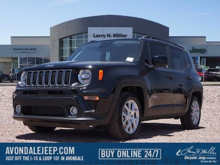 Featured new 2020 Jeep Renegade LATITUDE FWD Sport Utility for sale near you in Avondale, AZ