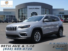 Used 2019 Jeep Cherokee Latitude Plus FWD SUV for sale in Avondale, AZ