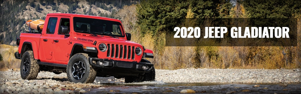 Review & Compare the 2020 Jeep Gladiator at Larry H. Miller Chrysler Jeep Avondale