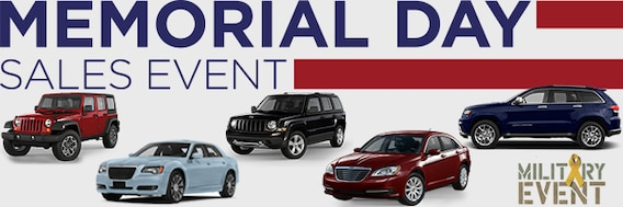 Memorial Day Car Sale >> Memorial Day Sales Event Larry H Miller Chrysler Jeep