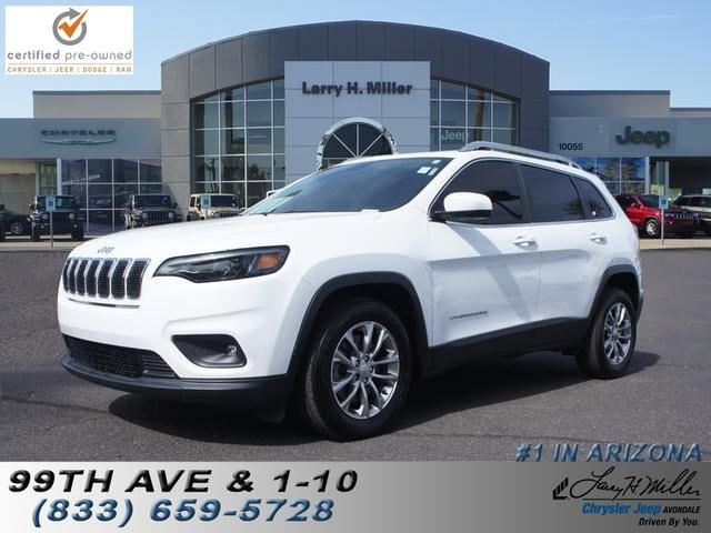 Featured used 2019 Jeep Cherokee Latitude Plus FWD SUV for sale near you in Avondale, AZ