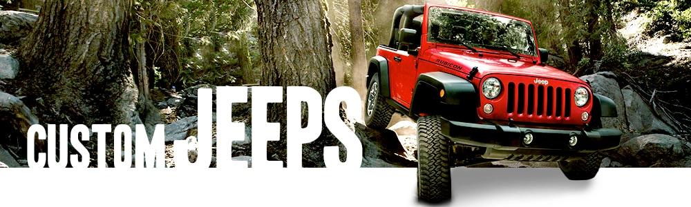custom jeeps larry h miller chrysler jeep avondale. Black Bedroom Furniture Sets. Home Design Ideas