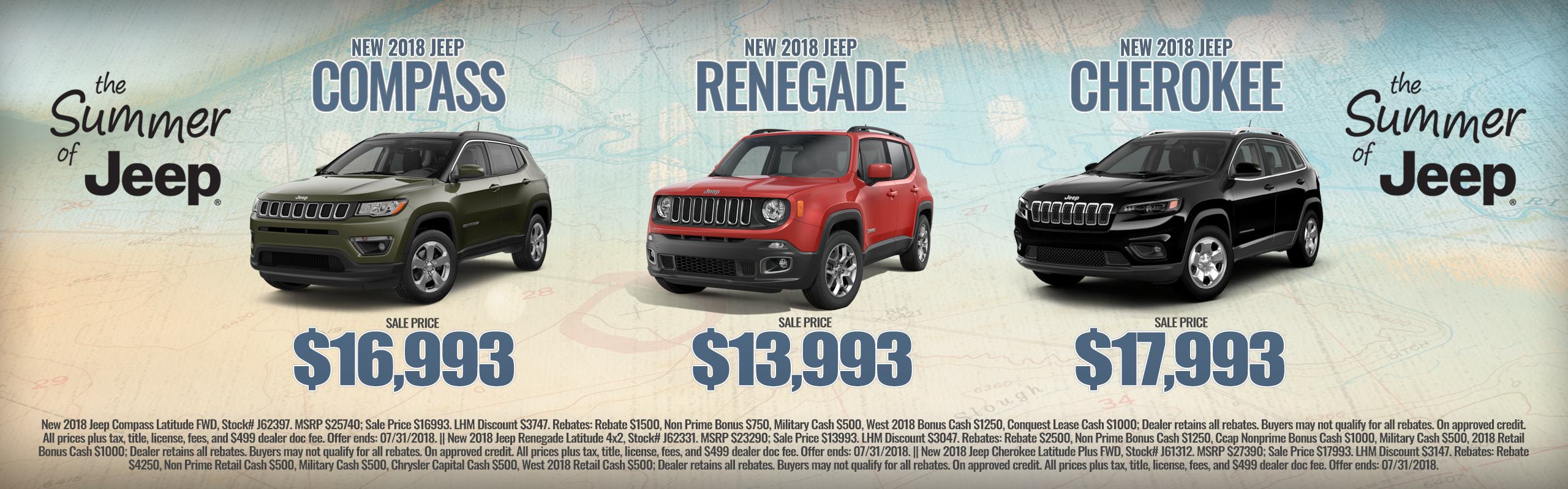 The Summer Of Jeep Event at Larry H. Miller Chrysler Jeep Avondale