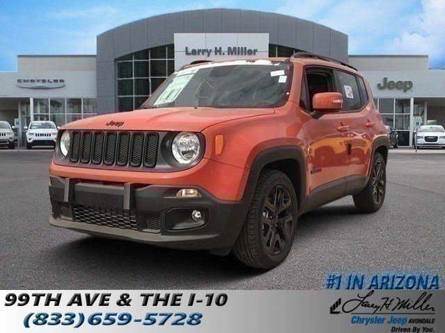Featured new 2018 Jeep Renegade ALTITUDE 4X2 Sport Utility for sale near you in Avondale, AZ