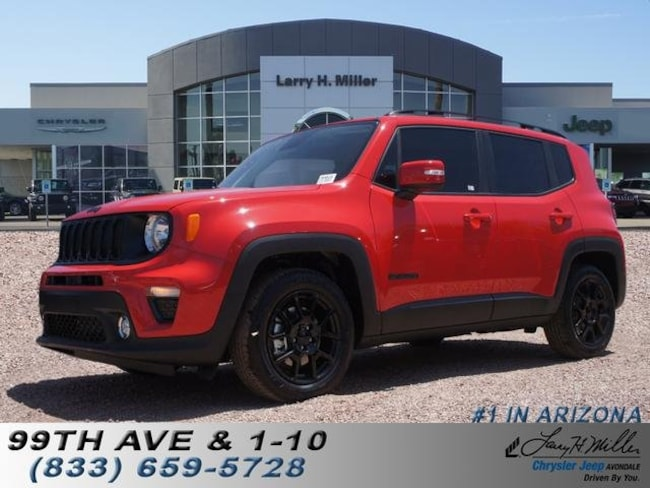New 2019 Jeep Renegade ALTITUDE FWD Sport Utility for sale in Avondale, AZ