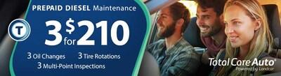 TCA Prepaid Diesel Maintenance Package
