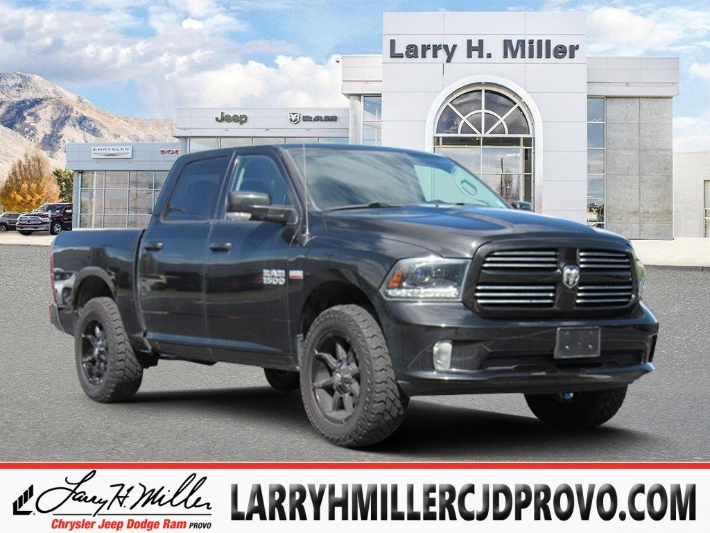 Featured 2015 Ram 1500 Sport Truck Crew Cab for sale near you in Provo, UT