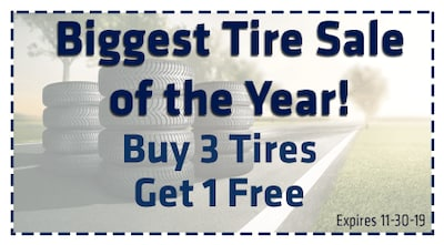 Biggest Tire Sale of The Year!!