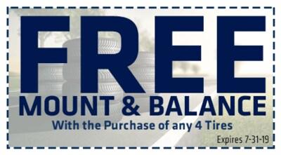 Free Mount & Balance