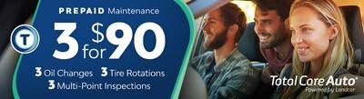 TCA Prepaid Maintenance Package