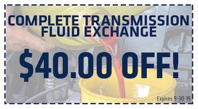 Complete Transmission Fluid Exchange