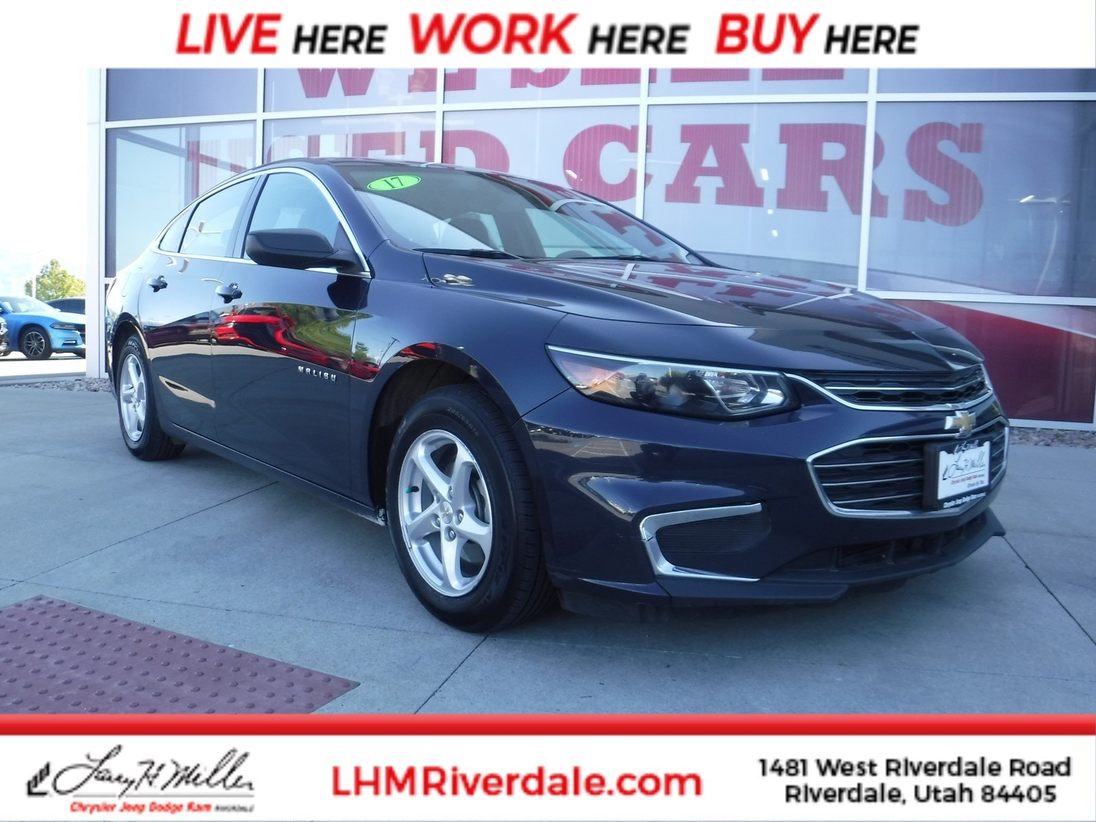 Featured Used 2017 Chevrolet Malibu LS w/1LS (Retail only) Sedan for sale near you in Riverdale, UT