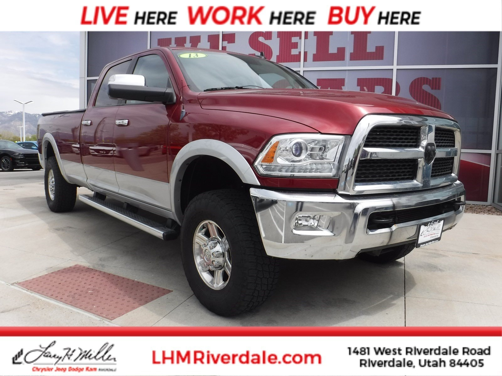 Featured Used 2013 Ram 2500 Laramie Truck Crew Cab for sale near you in Riverdale, UT