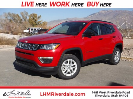 Featured New 2021 Jeep Compass SPORT 4X4 Sport Utility for sale near you in Riverdale, UT