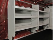 Image of Adrian Steel Ford ADseries Van Shelves in Ogden
