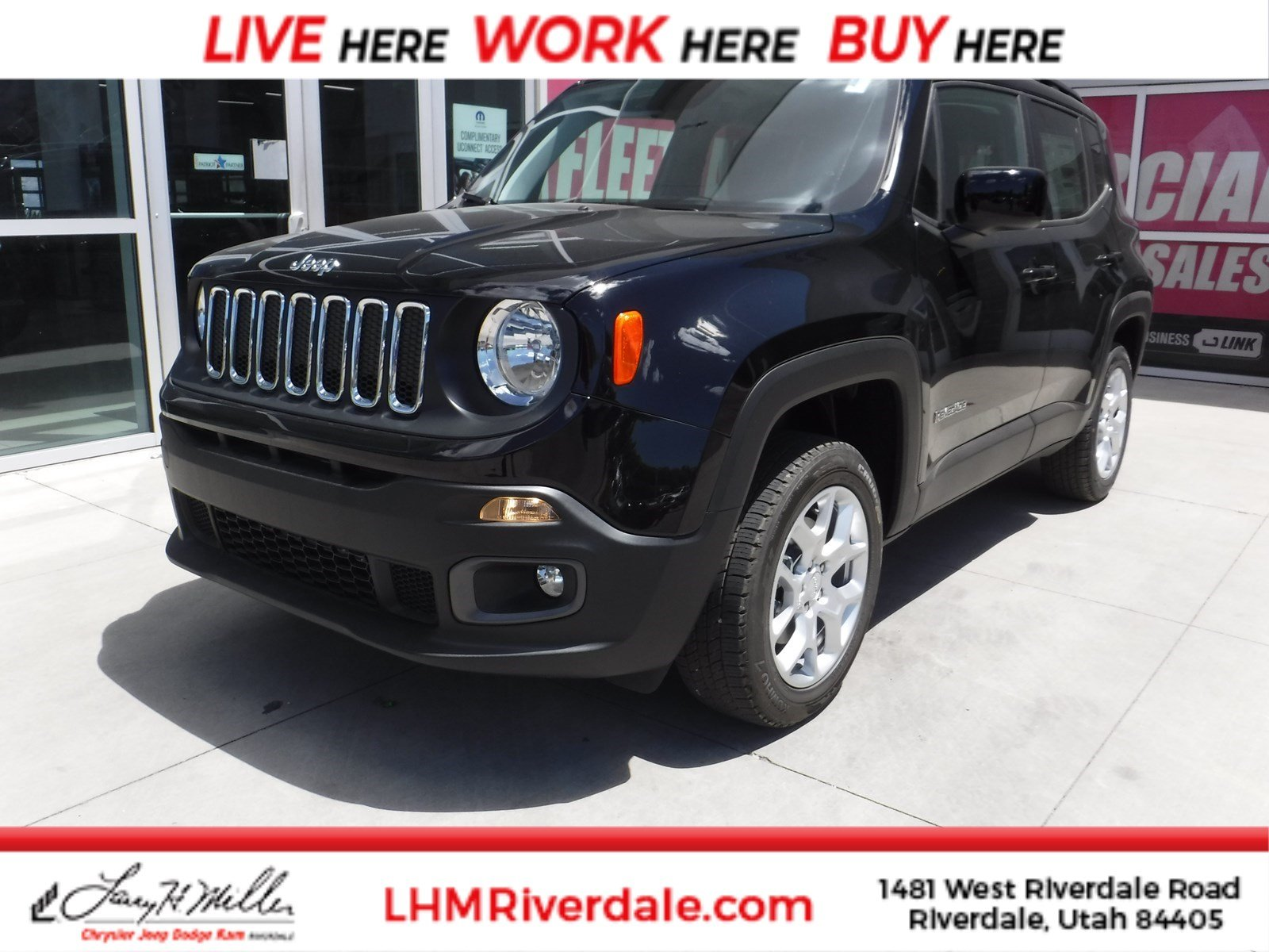 Featured New 2018 Jeep Renegade LATITUDE 4X4 Sport Utility for sale near you in Riverdale, UT
