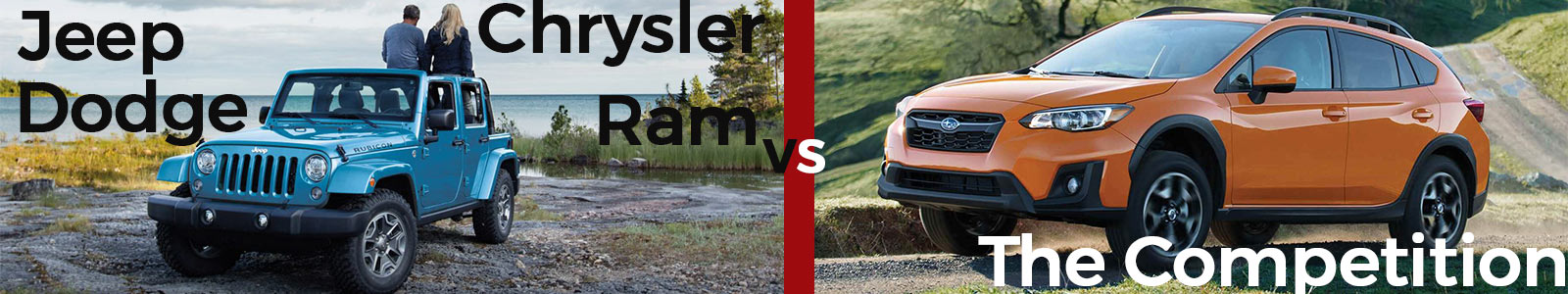 Jeep Dodge Chrysler Ram vs The Competition Riveradle