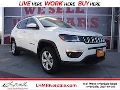 Certified Pre-Owned 2018 Jeep Compass Latitude 4x4 SUV Riverdale