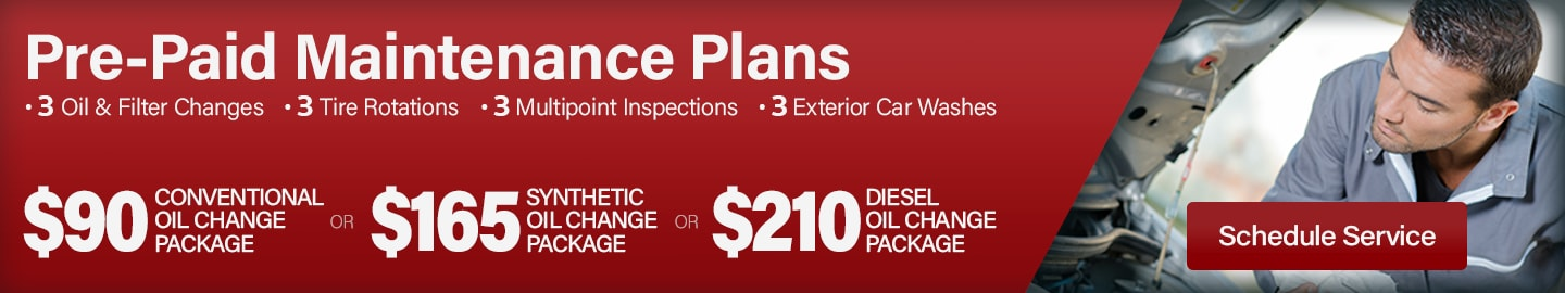 Pre-Paid Maintenance Packages at Larry H. Miller Chrysler Jeep Dodge Ram Surprise