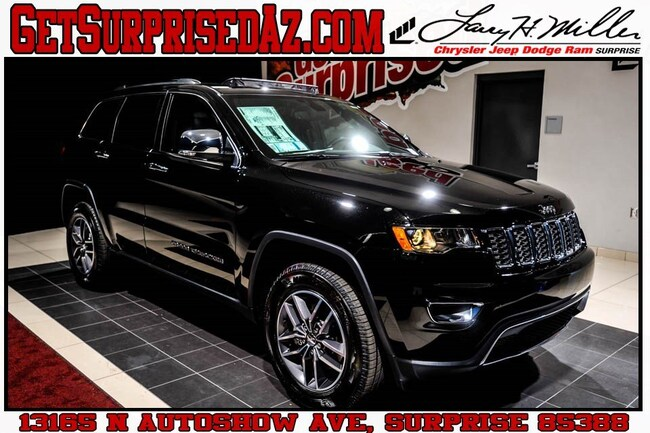 New vehicle 2018 Jeep Grand Cherokee LIMITED 4X4 Sport Utility for sale near you in Surprise, AZ