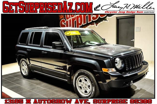 Used vehicles 2016 Jeep Patriot Sport FWD SUV for sale near you in Surprise, AZ