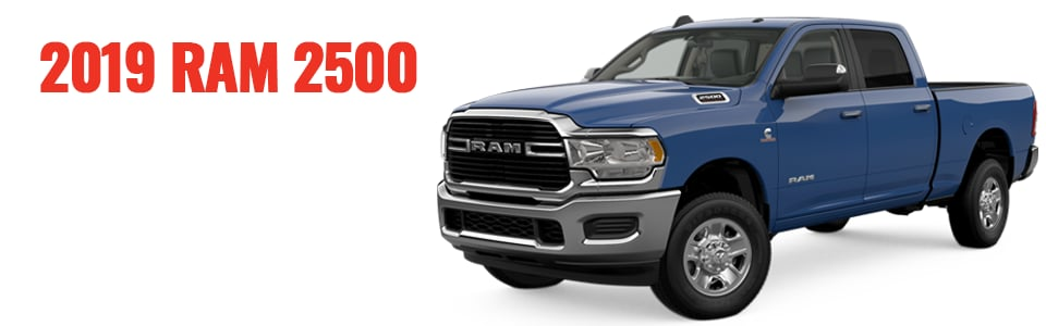Review & Compare the 2019 Ram 2500 at Larry H. Miller Chrysler Jeep Dodge Ram Surprise