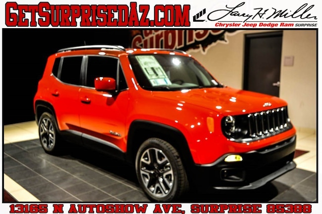 New vehicle 2018 Jeep Renegade LATITUDE 4X2 Sport Utility for sale near you in Surprise, AZ